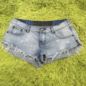 One Teaspoon Denim Shorts Women's Size 10 28